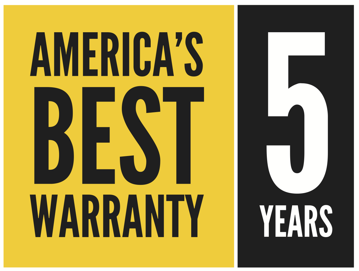 America's Best Warranty for 5 years