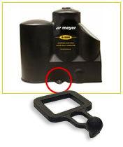 Meyer Hydraulic Cover & Locking Strap