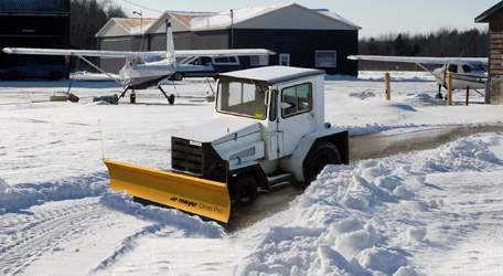 Airport Tractor Snow Plow