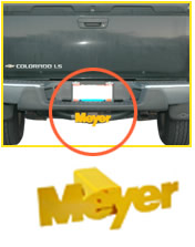 Meyer Receiver Hitch Cover