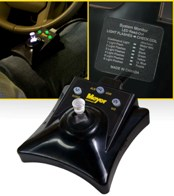 Joystick Controller with Hands-Free Plowing (HFP)