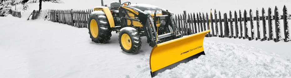 Compact Tractor Snow Plow
