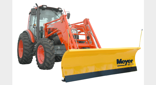 Full-Trip Snow Plows for Compact Tractors