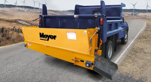 Cross Conveyor Dump Truck Tailgate Salt Spreaders Meyer