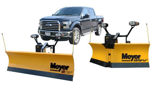 super v light duty half ton truck v snow plows meyer fleet management