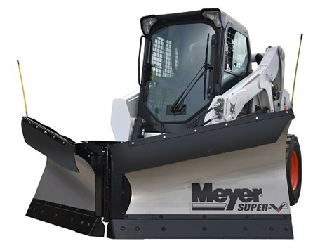 Skid Steer V-Plow