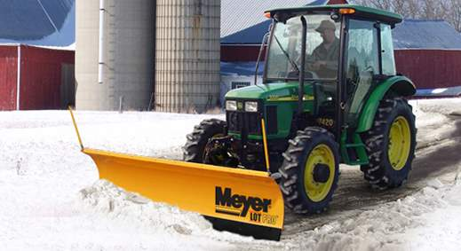snow plows personal professional use meyer off road