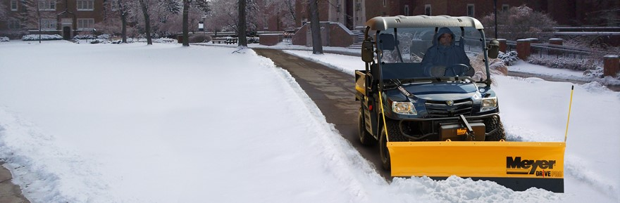 Utility Vehicle Snow Plow