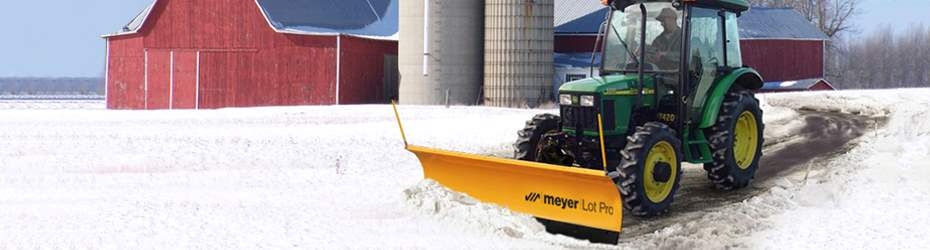 Utility Tractor Snow Plow
