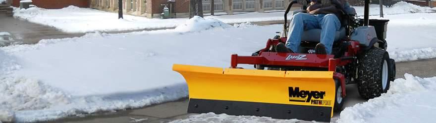 Ztr Snow Plow